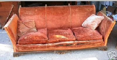 Knole Style Sofa Goes With The Chair
