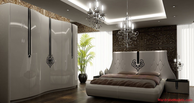 اسقف جبس غرف نوم ناعمه Gypsum Ceiling For Soft Bedroom قصر الديكور Bedroom Bed Design Master Bedroom Furniture Bed Design