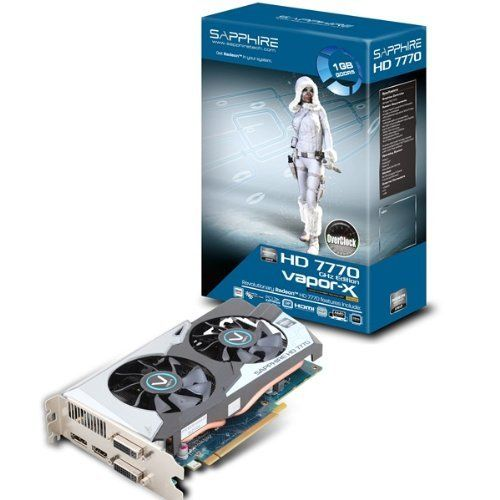 Vapor X Hd 7770 Oc Ghz Edition Grafikkarten By Sapphire Technology 170 90 Perfect For Gamers And A Graphic Card Computer Accessories Electronic Computer
