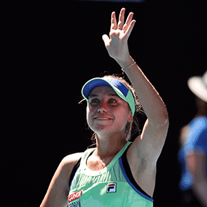 Sofia Kenin Reached Her First Semi Final Since Winning Her Maiden Grand Slam Title At The Australian Open Last Month By Beating Franc In 2020 Semi Final Finals Triumph