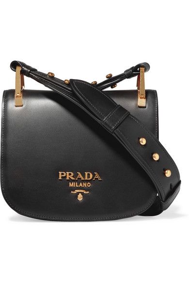 9f9e57776c15 PRADA Pionnière Leather Shoulder Bag.  prada  bags  shoulder bags  leather