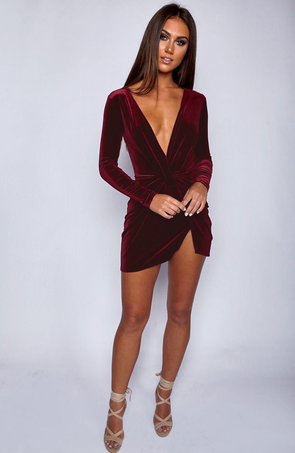 Alessandra dress maroon pretty dresses pinterest classy