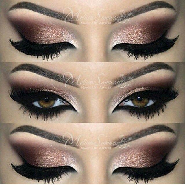 Dramatic Brown Smokey Eyes Amazing Eyes Makeup Pinterest