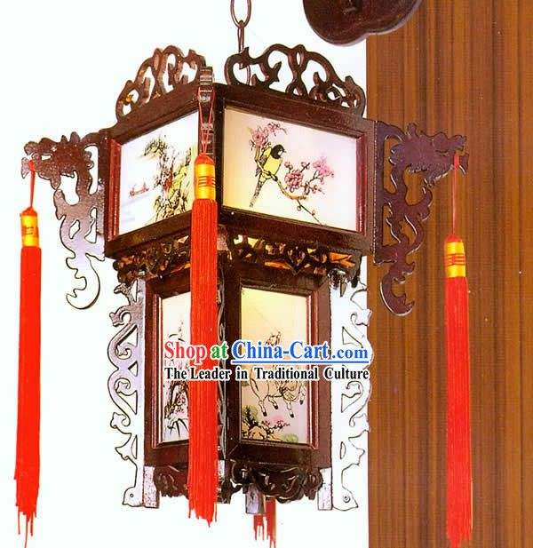 Chinese Handmade Carved Wooden Dragon Wall Lantern Dragon Wall Wooden Lanterns Lanterns