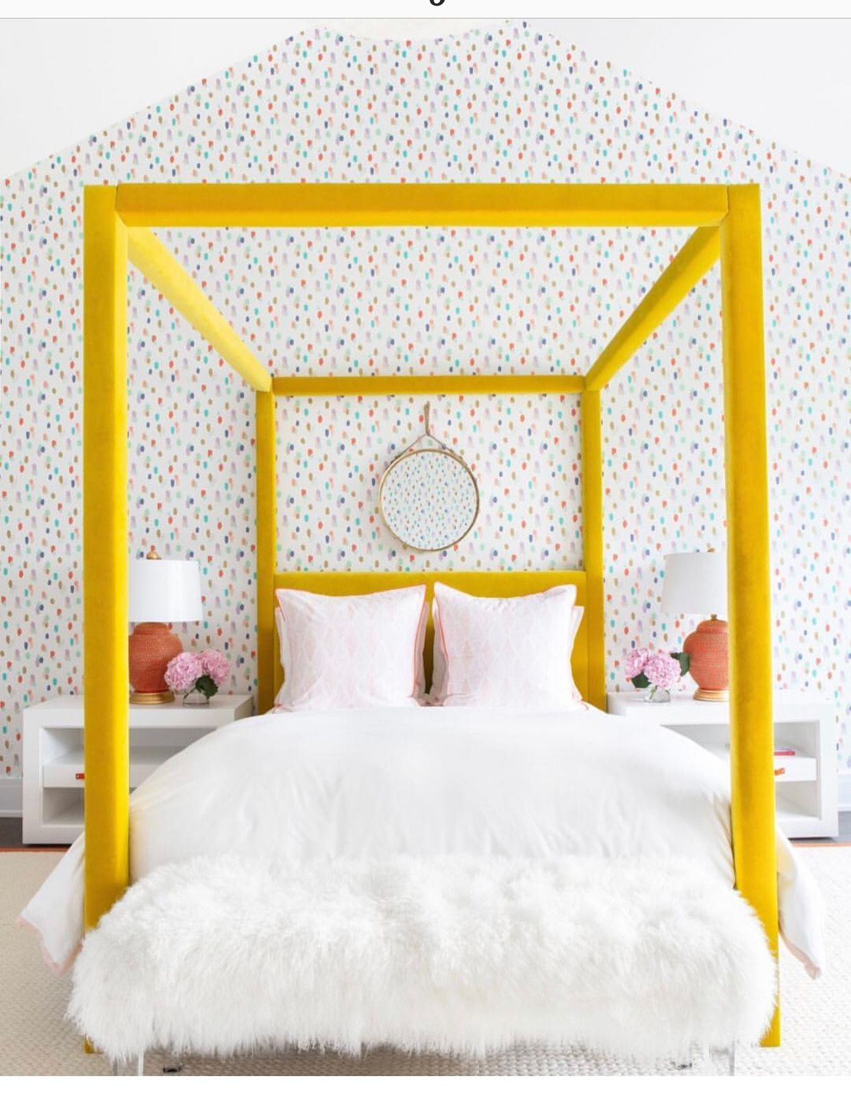 Pin By Michelle Irby On The Ideal Space Yellow Bedroom Yellow Bedding Cheap Home Decor