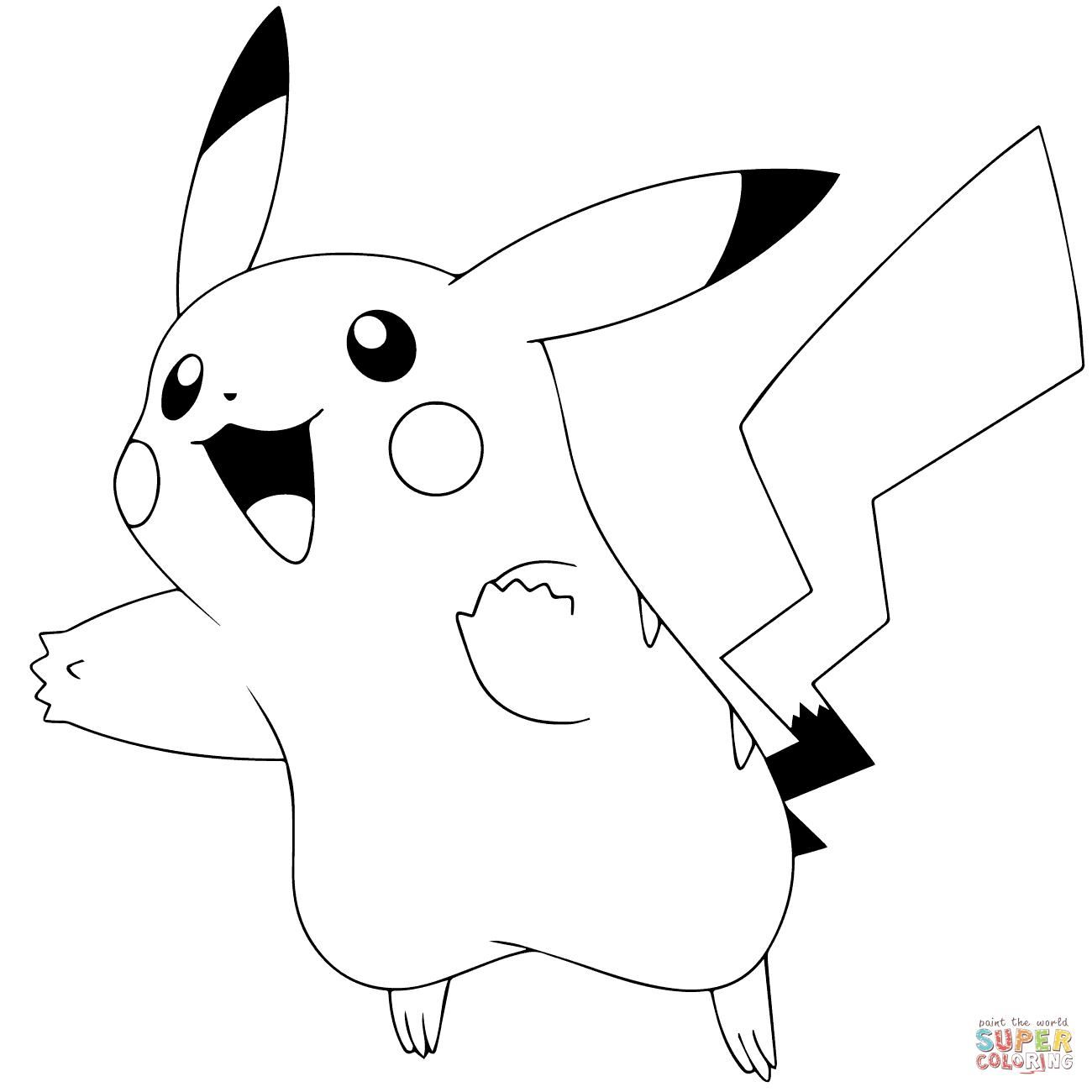 pokemon coloring pages pikachu ex | Pin on Colorings