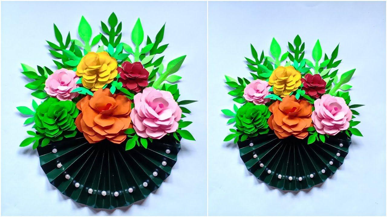Ide Kreatif Membuat Hiasan Bunga Cantik Dari Kertas Room Decor