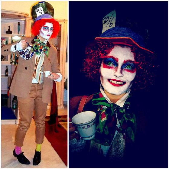 Olina T Mad Hatter Hatter Halloween Costumes