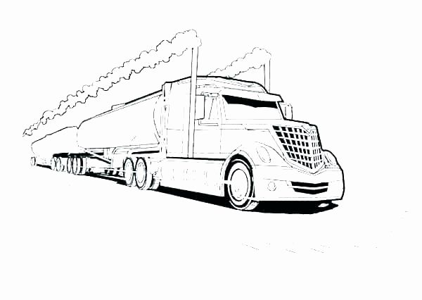 Semi Truck Coloring Pages New Peterbilt Coloring Pages