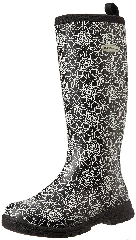 Womens Dailyshoe's Women Western Cowboy Rainboots Mid Calf Rain Boots Footwear Shoes For Sale Online Size 37