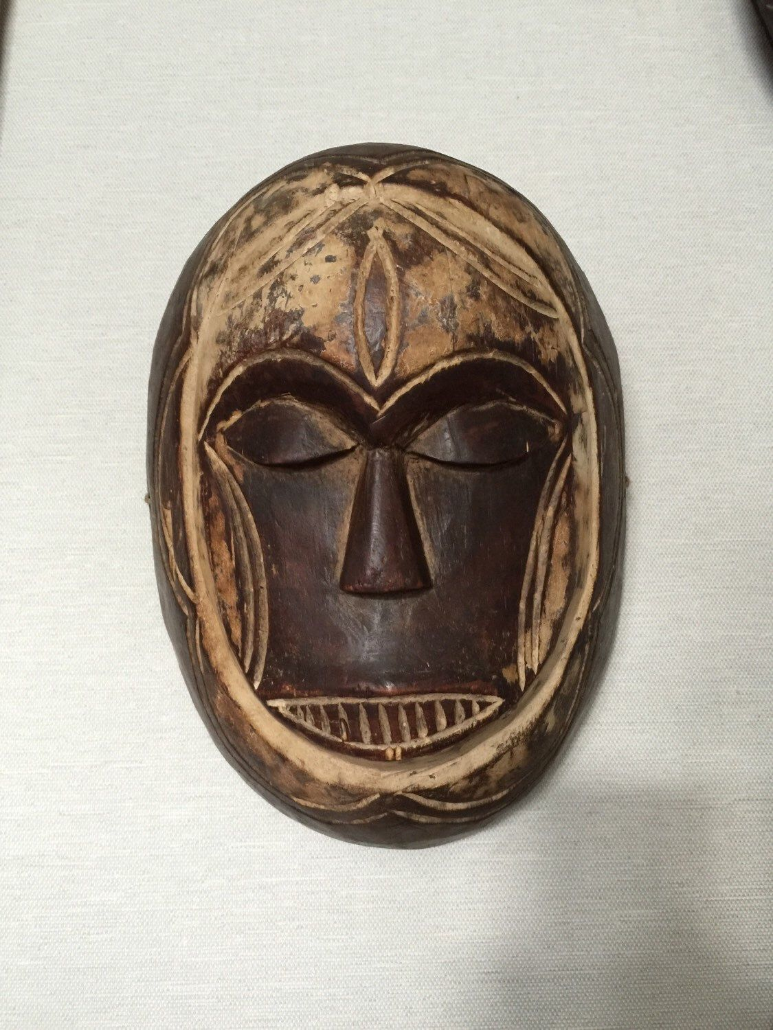 A personal favorite from my #Etsy shop https://www.etsy.com/listing/231105629/ #african #mask