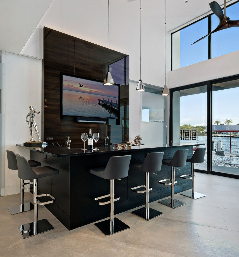 20 Glorious Contemporary Home Bar Designs You'll Go Crazy