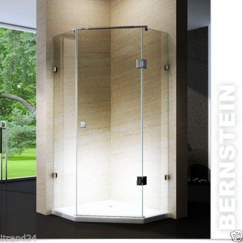 Cabina doccia pentagonale ex415 box doccia copertura nano - Doccia senza piatto ...