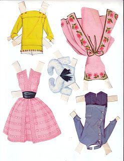 Kathleen Taylor's Dakota Dreams: Thursday Tab- Whitman Barbie Doll, 1962