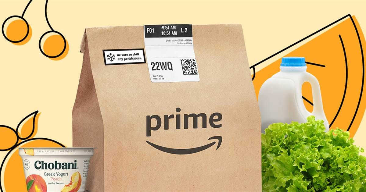Amazon grocery delivery is now free for prime members