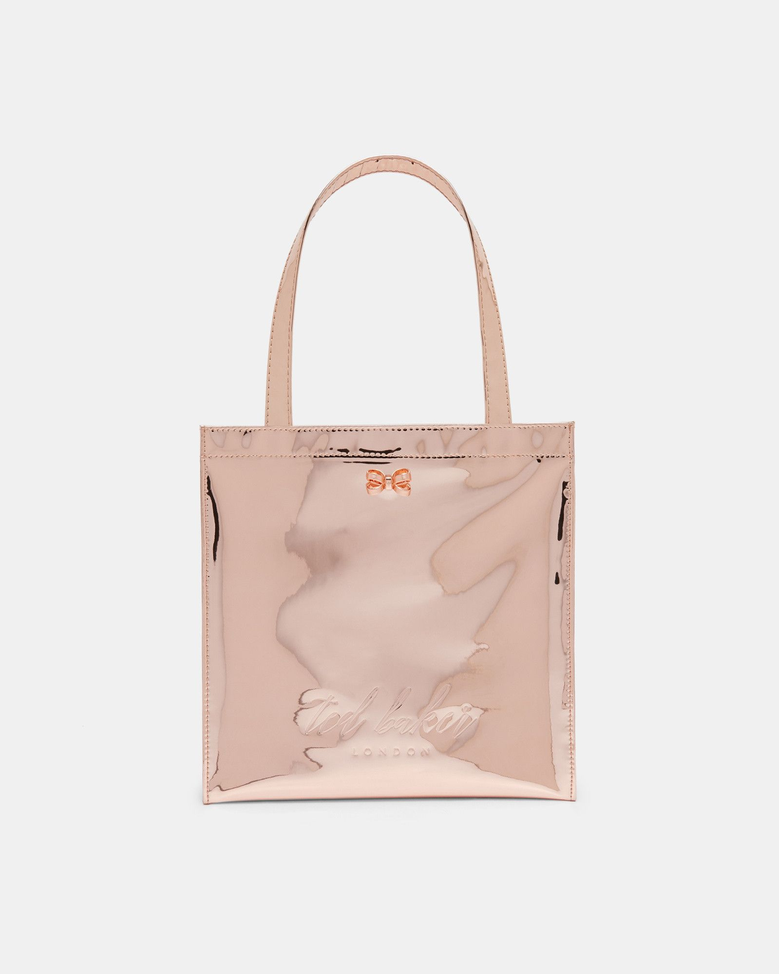 3ef089e08d Ted Baker Small mirrored icon bag Rose Gold