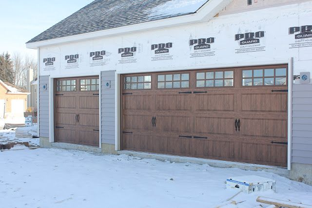 Home Sweet Home Number Two Carriage Style Garage Doors House