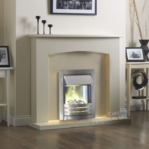 Incredible Electric Cream Ivory Silver Fire Pebble Wall Surround Download Free Architecture Designs Parabritishbridgeorg