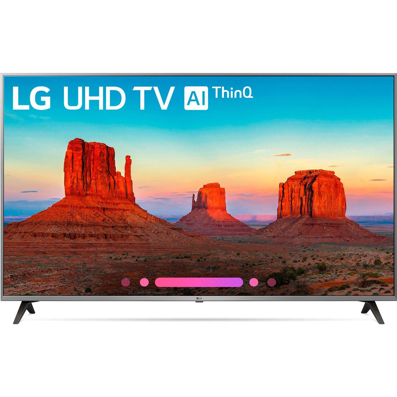 "LG 55UK7700PUD 55"" Class 4K HDR Smart LED AI UHD TV w"