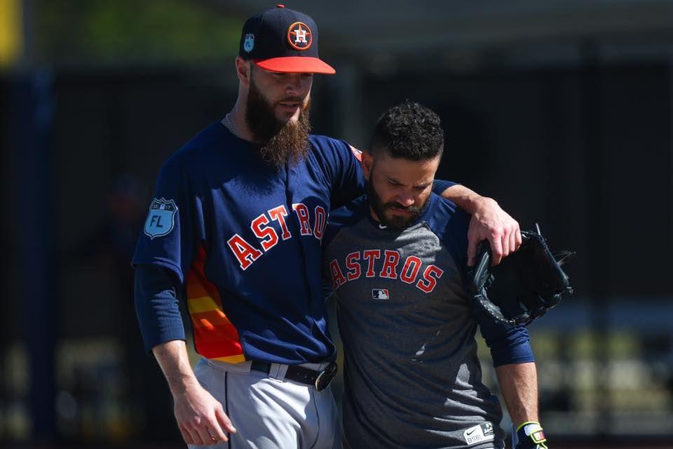 Dallas Keuchel And Jose Altuve Baseball Brothers Houston Astros Baseball Astros Baseball Baseball