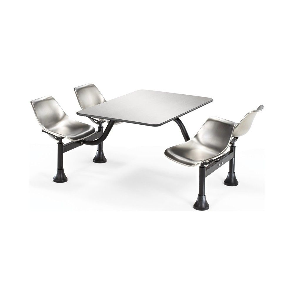 Mainline 24 X 48 Canteen Table And Chairs Stainless Steel Chair Stainless Steel Table Top Steel Table