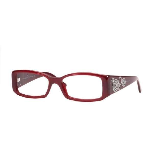 93d79f7318 Bvlgari eyeglasses with crystals - cherry red