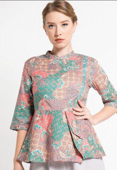 Contoh Baju Batik Kebaya Modern - Desain Model Baju ...