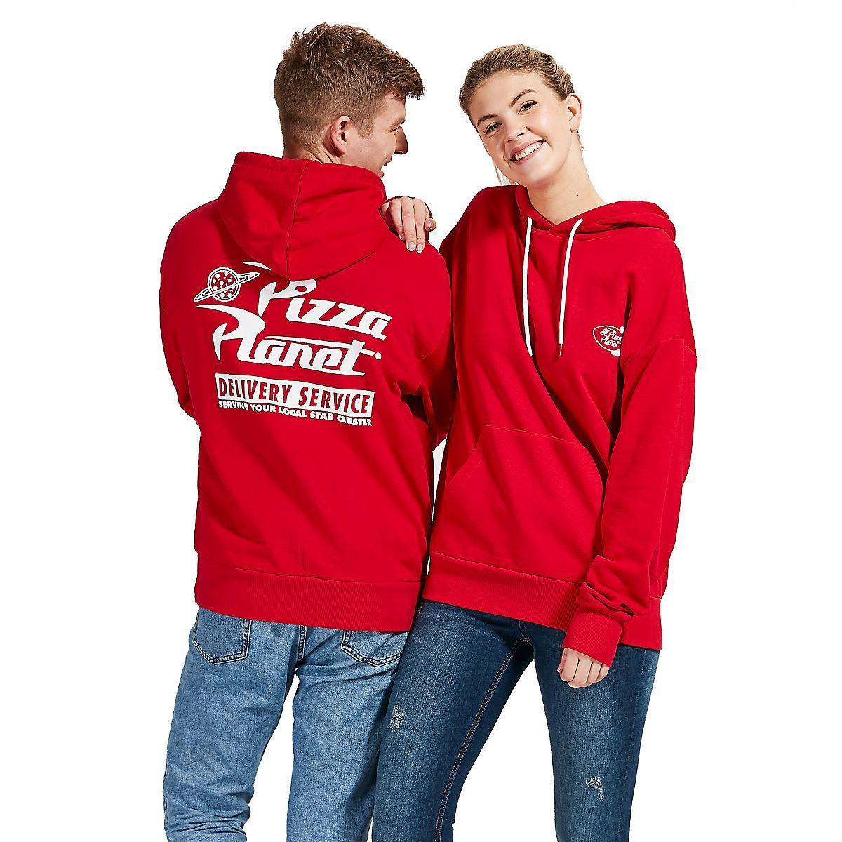 Pizza Planet logo Hoodie funny Halloween costume Sweatshirts Adult Kids size