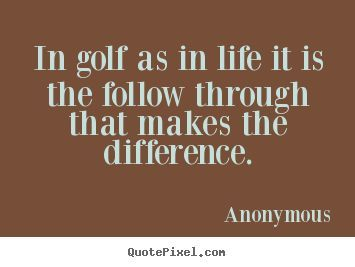golf friendship quotes
