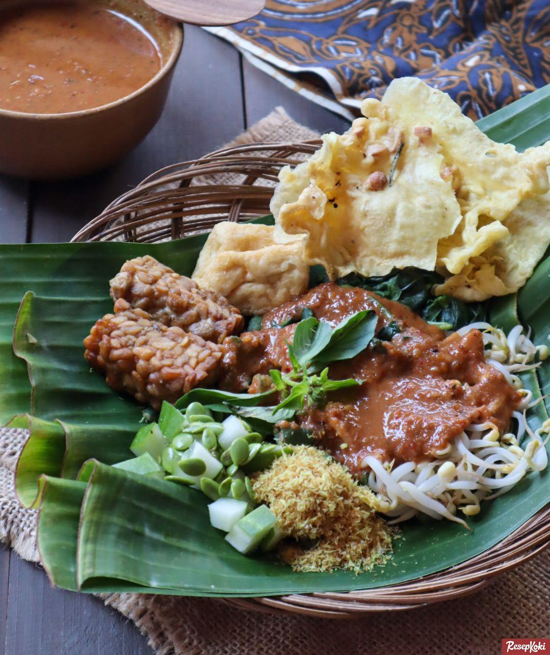 Pecel Khas Madiun Dan Bumbu Lengkap Resep Resepkoki Resep Resep Resep Masakan Makanan
