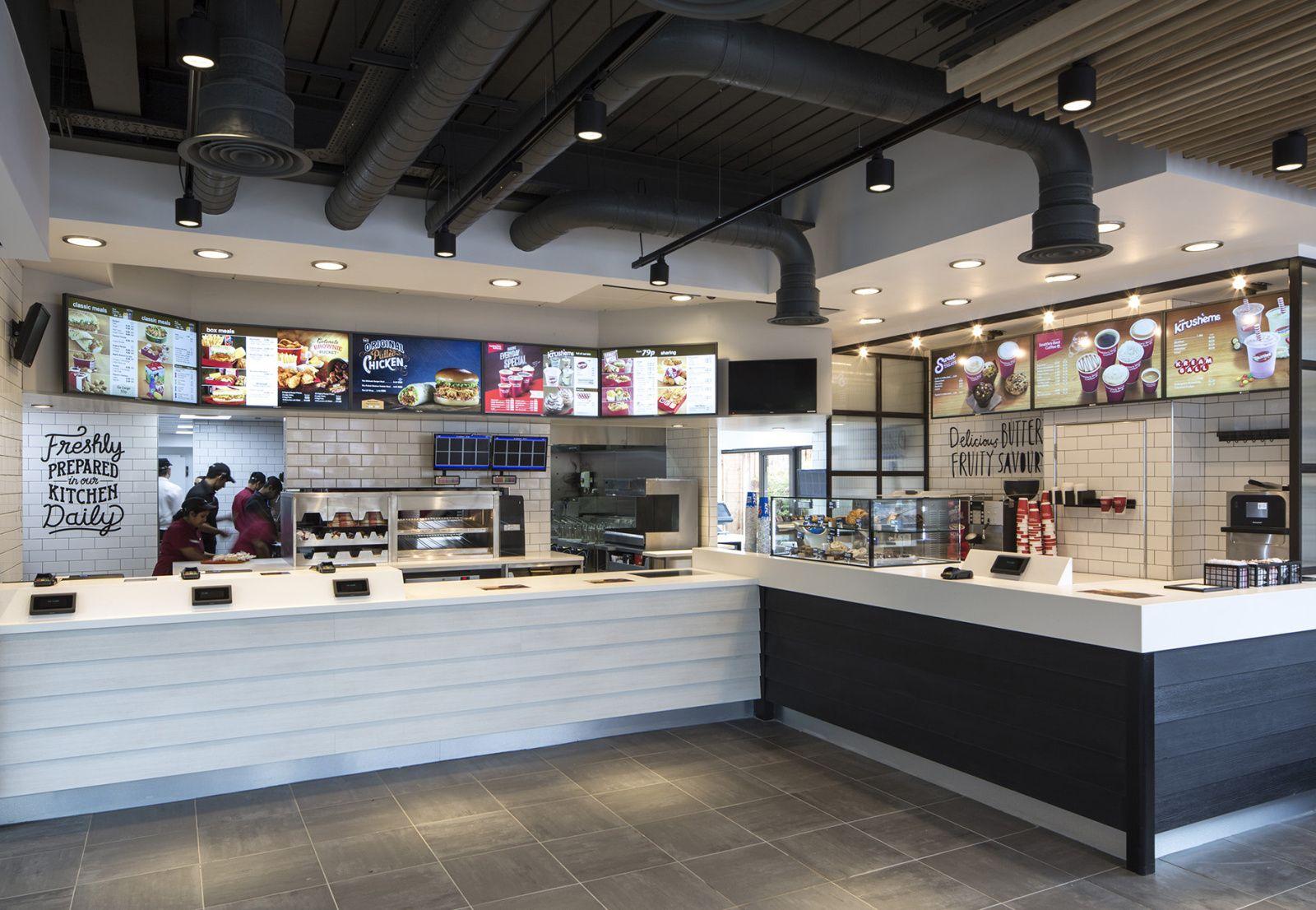 Kfc Unveils Radical New Interior Designs Restaurant Design