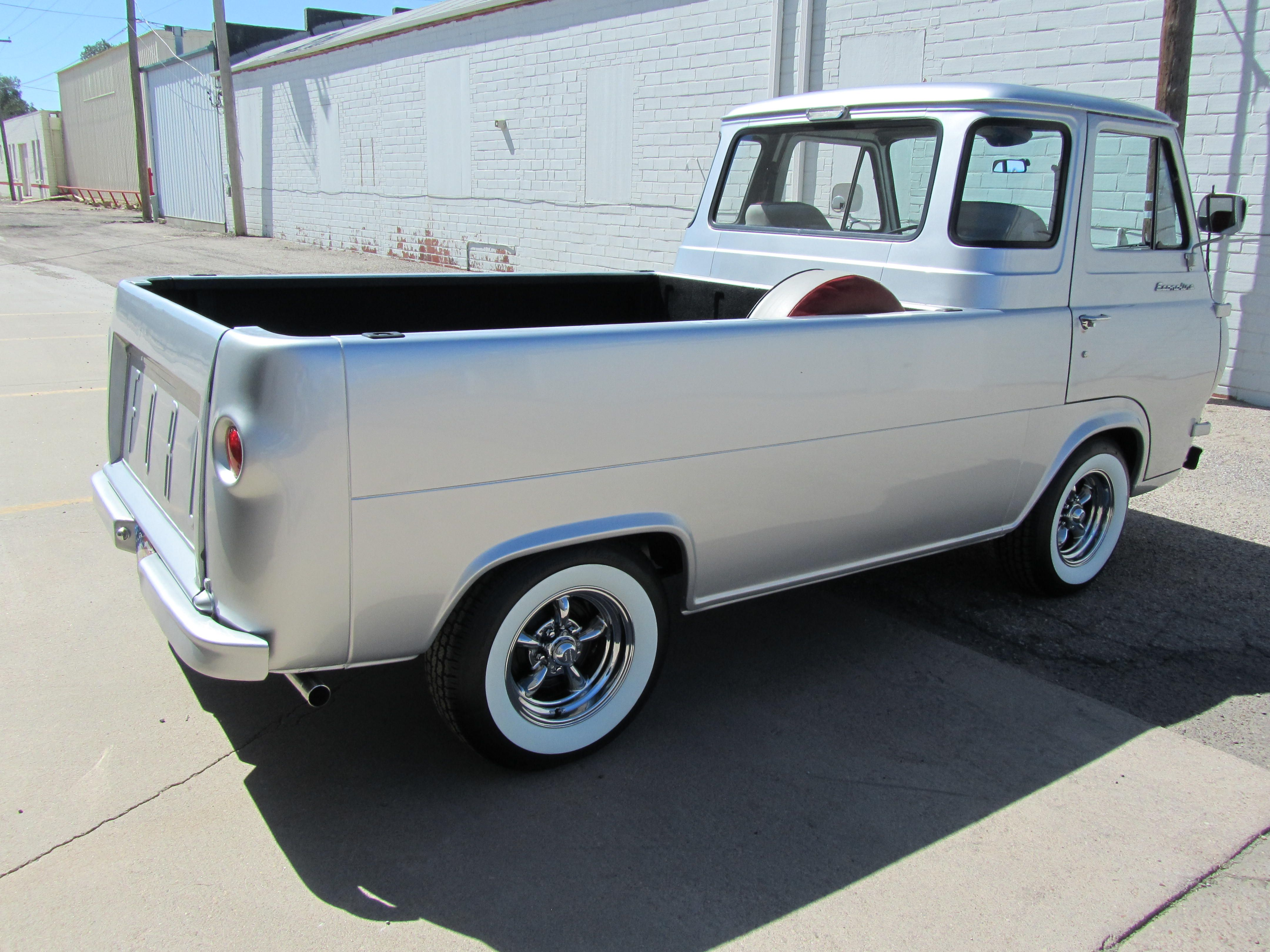 Six Wheel Drive Pick Up 1961 Ford Econoline Pickup Great Bend