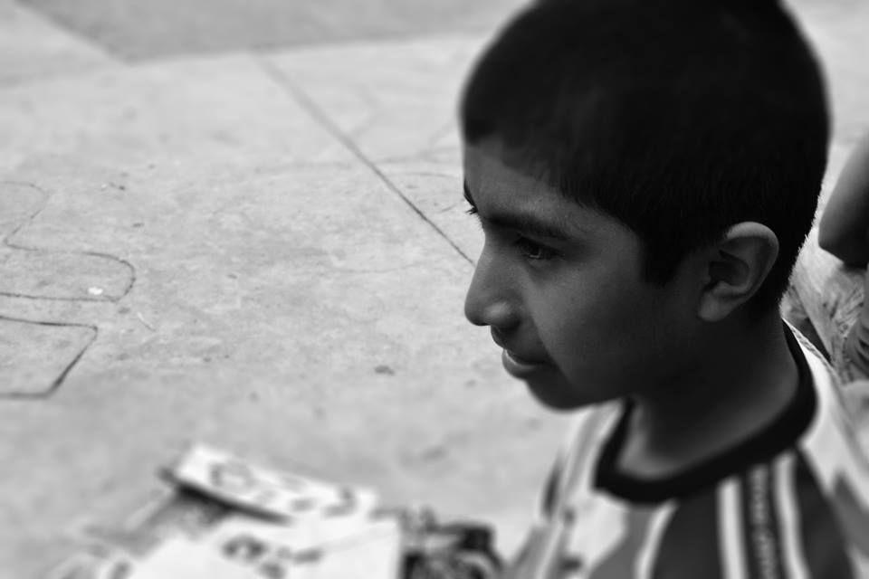 Niño vendedor + Pahuatlán