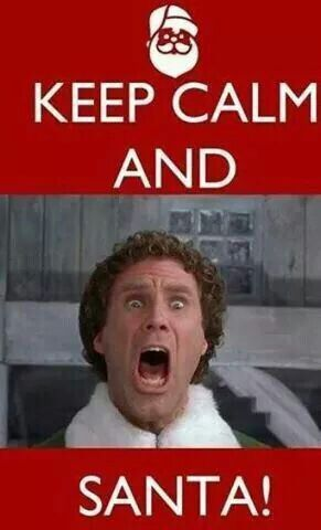 Keep Calm and Santa