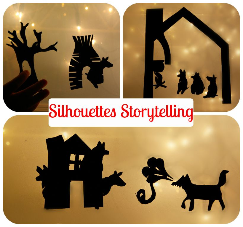 Frog in a pocket: Silhouettes storytelling - enrich your child's storytelling experience