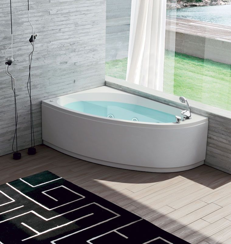 Vasca da bagno Centro termale Nova 160x110 | 화장실 | Pinterest | House