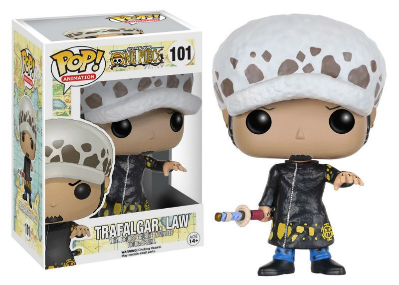 NEWOne Piece Trafalgar Law Portgas·D· Ace Vinyl Figure Action Toy Model 4/'/' POP