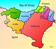 Basque Country Map Biscay Biskai Celt Iberian Basque Country