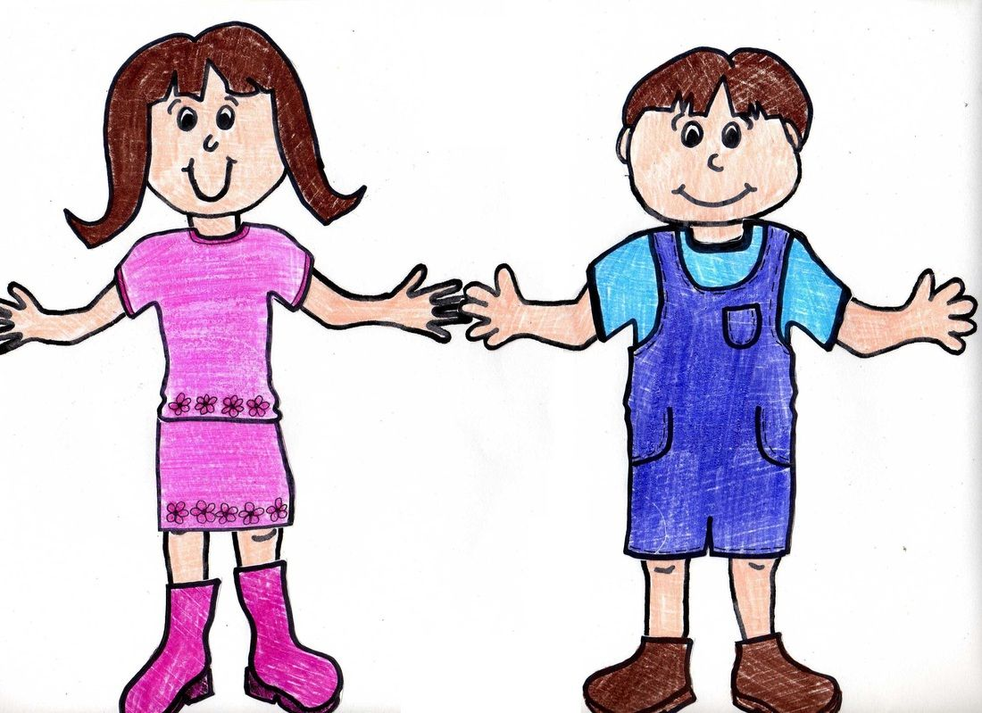 Free printable paper boy and girl dolls with clothes templates ...