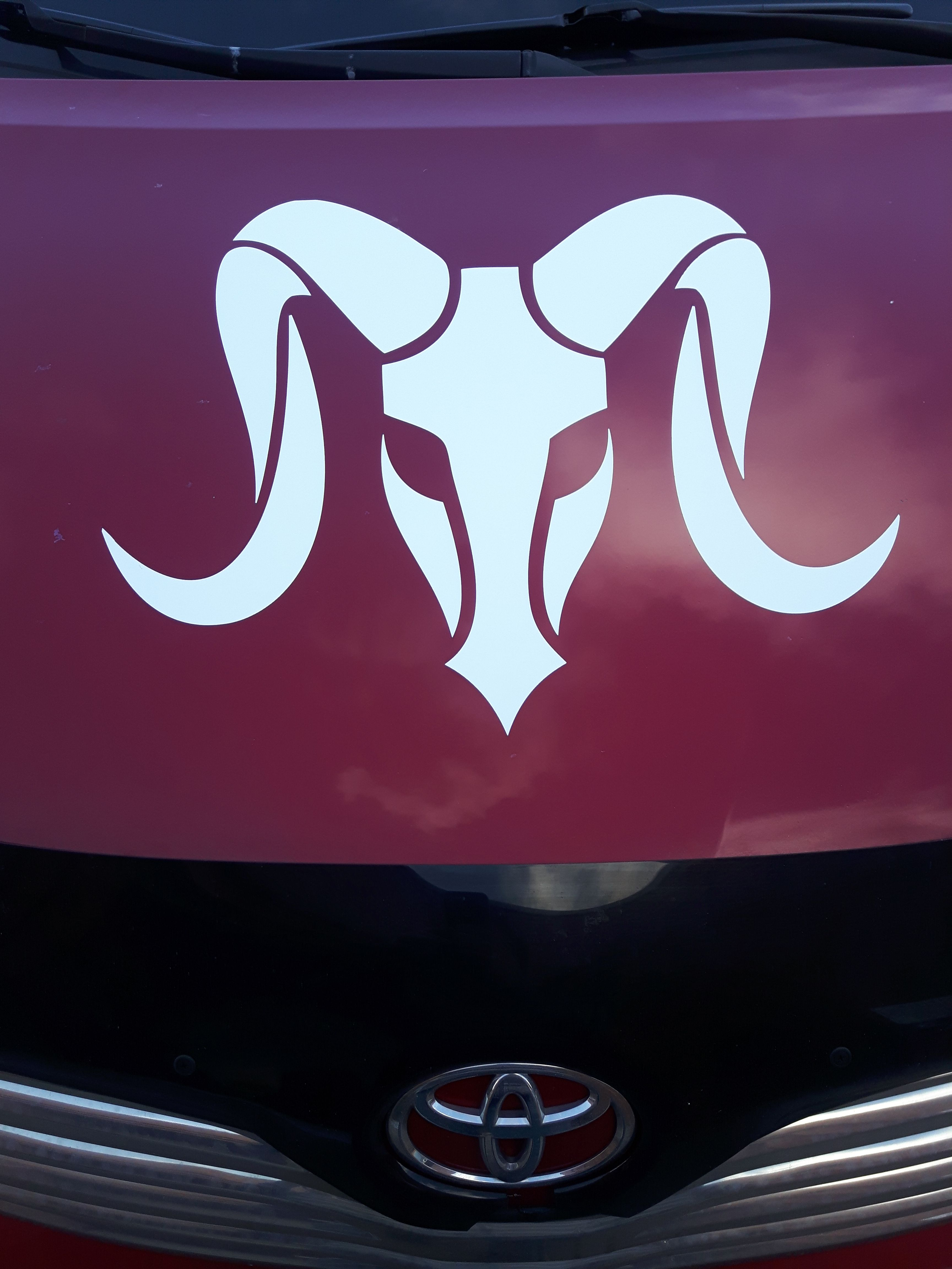 Ram Taurus Cutout Vinyl Decal On Your Vehicle Cutout And Printed Vinyl Stickers Are 5 Sq Ft Installation Is 7 Sq Ft E Vinyl Decals Vinyl Sticker Mazda Logo [ 4608 x 3456 Pixel ]