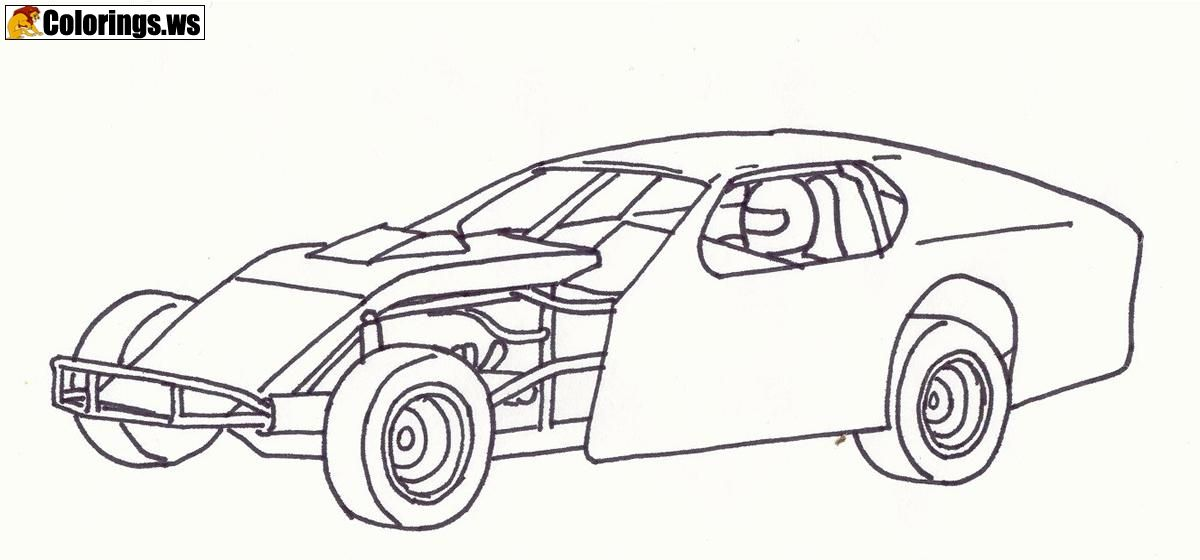 Stock Car Coloring Pages Car Coloring Pages 1904 Rolls