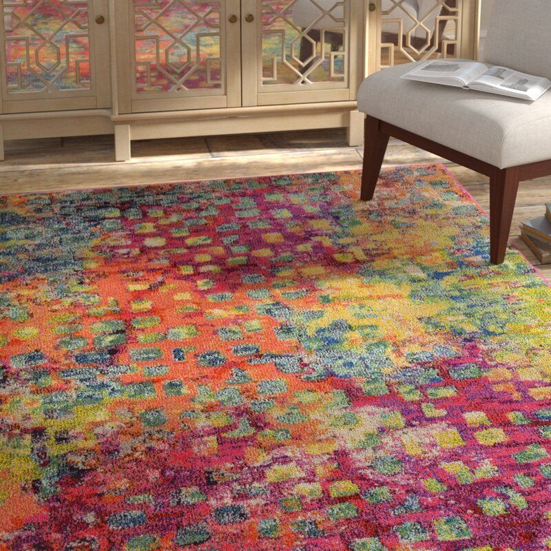 Abstract Multi Area Rug Yellow Area Rugs Blue Area Rugs Area Rugs