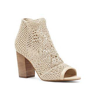 "Jessica Simpson ""Rianne"" Crochet Booties"