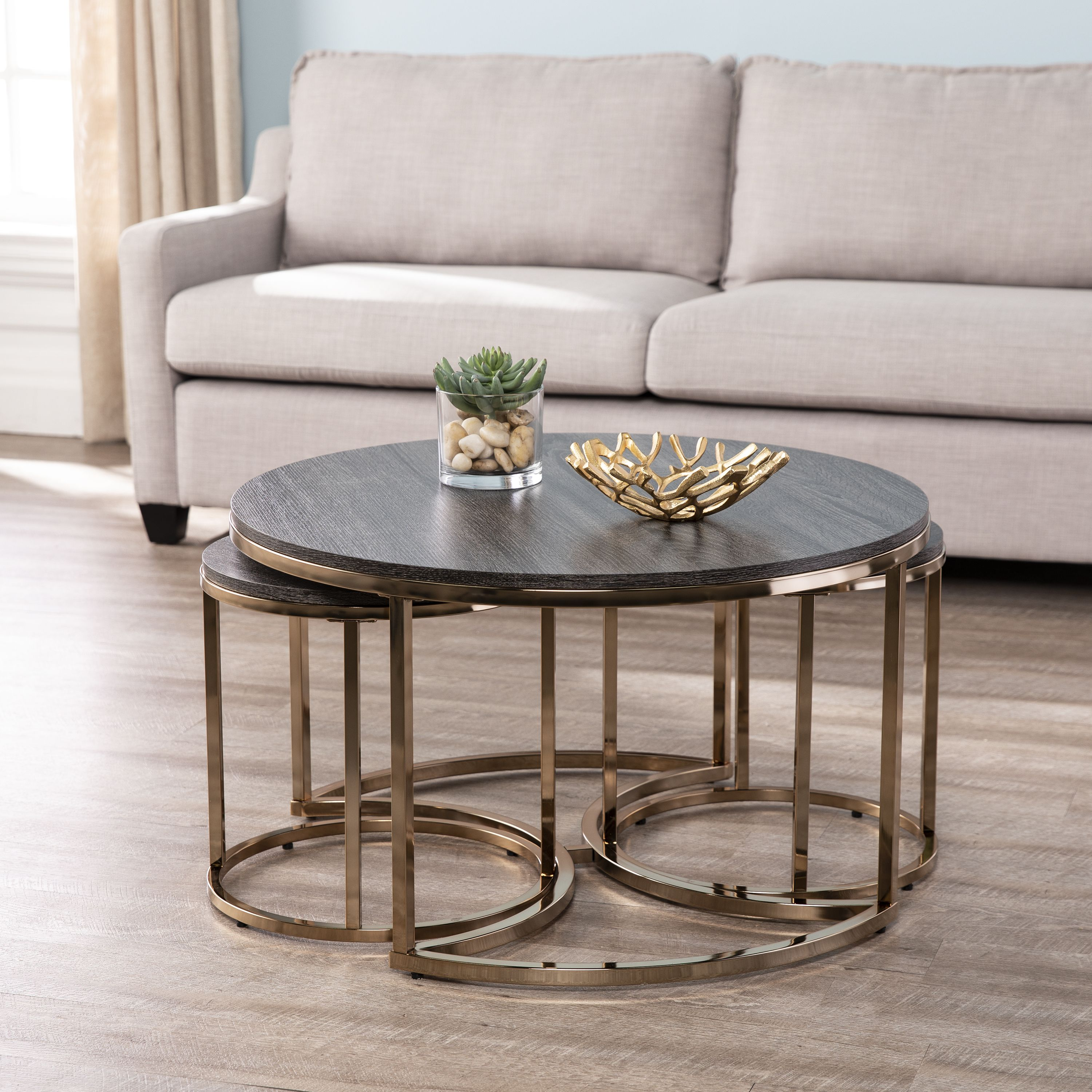 Home Round Nesting Coffee Tables Nesting Coffee Tables Coffee