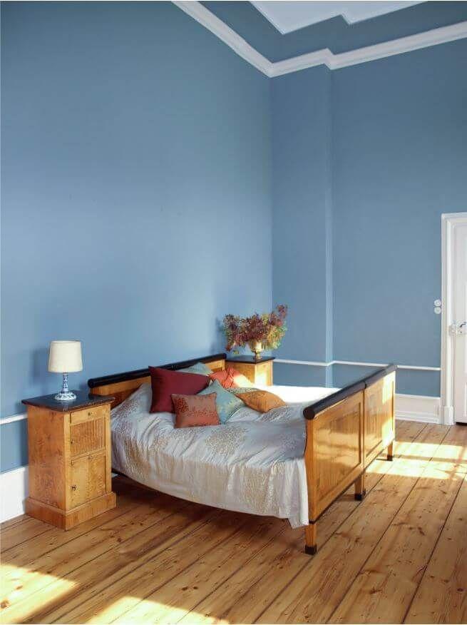Wände in starken Farben streichen mit Kreidefarbe