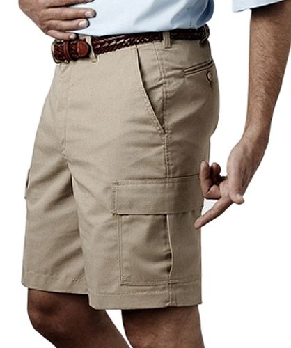 Mens Cargo Shorts, 6-pockets, 9-inch inseam | Logos, Polos and ...