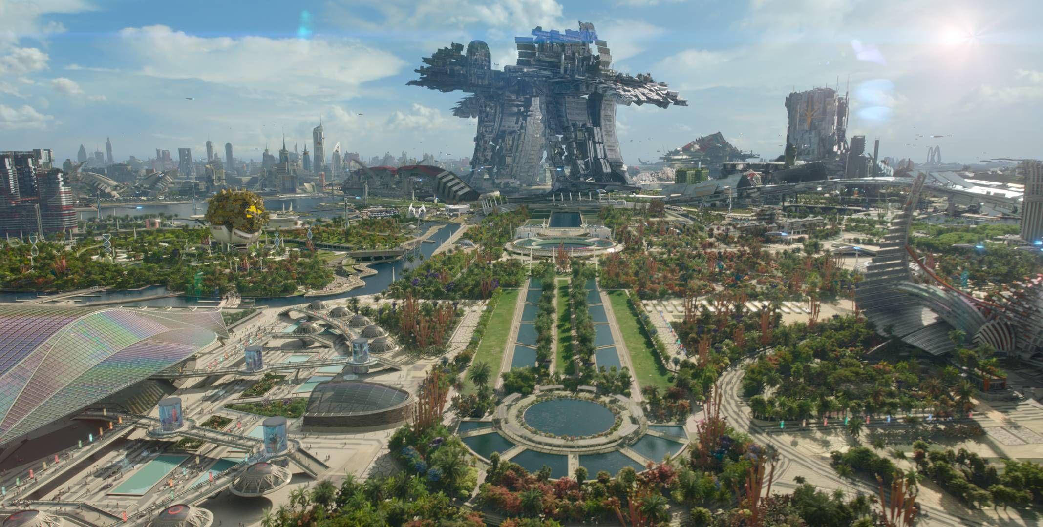 Xandar - Home of the Nova Corps // Guardians of the Galaxy   Guardians of the galaxy, Futuristic city, Cyberpunk city