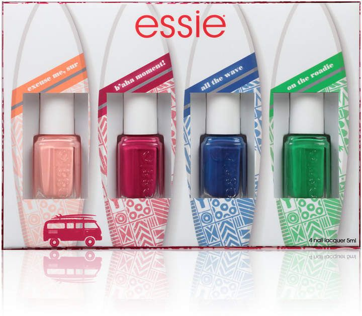 essie 4-Pc. Spring 2017 Mini Nail Lacquer Set | Spring colors ...