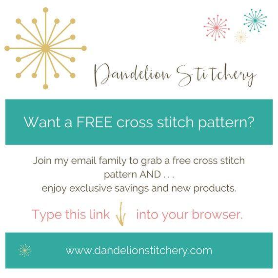 Christmas Ornament. PDF Cross Stitch. Home Decor. Joy. Sewing. Tree Ornament. Digital Download. Chri