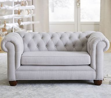 Chesterfield Mini Sofa Pbkids Bedroom Couch